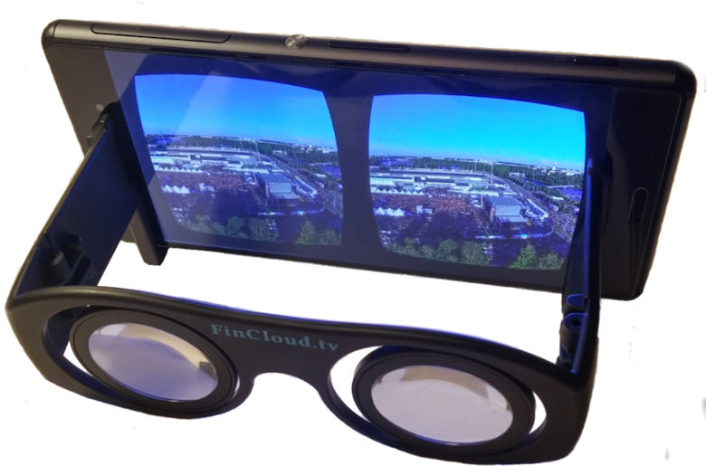 FinCloud.tv VR 360 Glasses