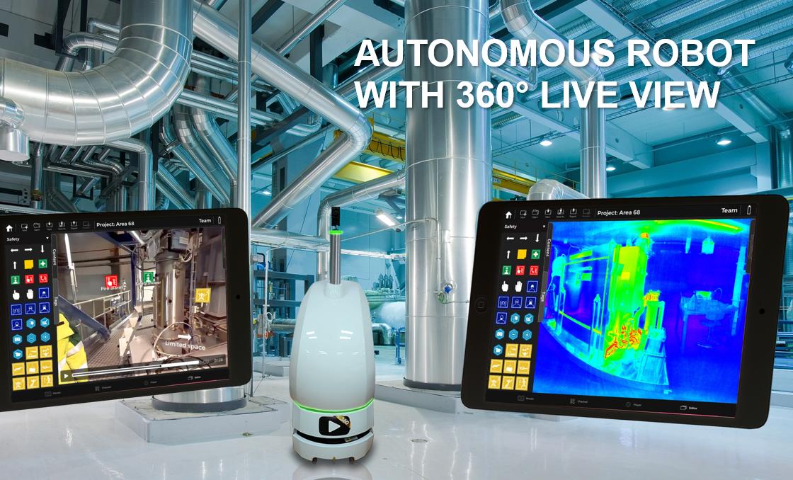 FinCloud Ltd. Interactive Autonomous 360° Live Streaming Robot