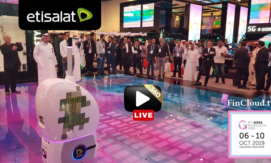 FinCloud Ltd. Interactive Autonomous 360° Live Streaming Robot