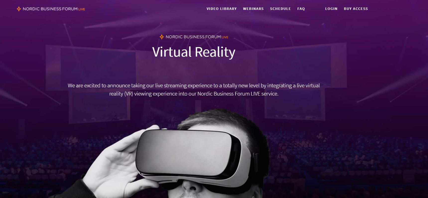 Nordic Business Forum 360 Live FinCloud Ltd.
